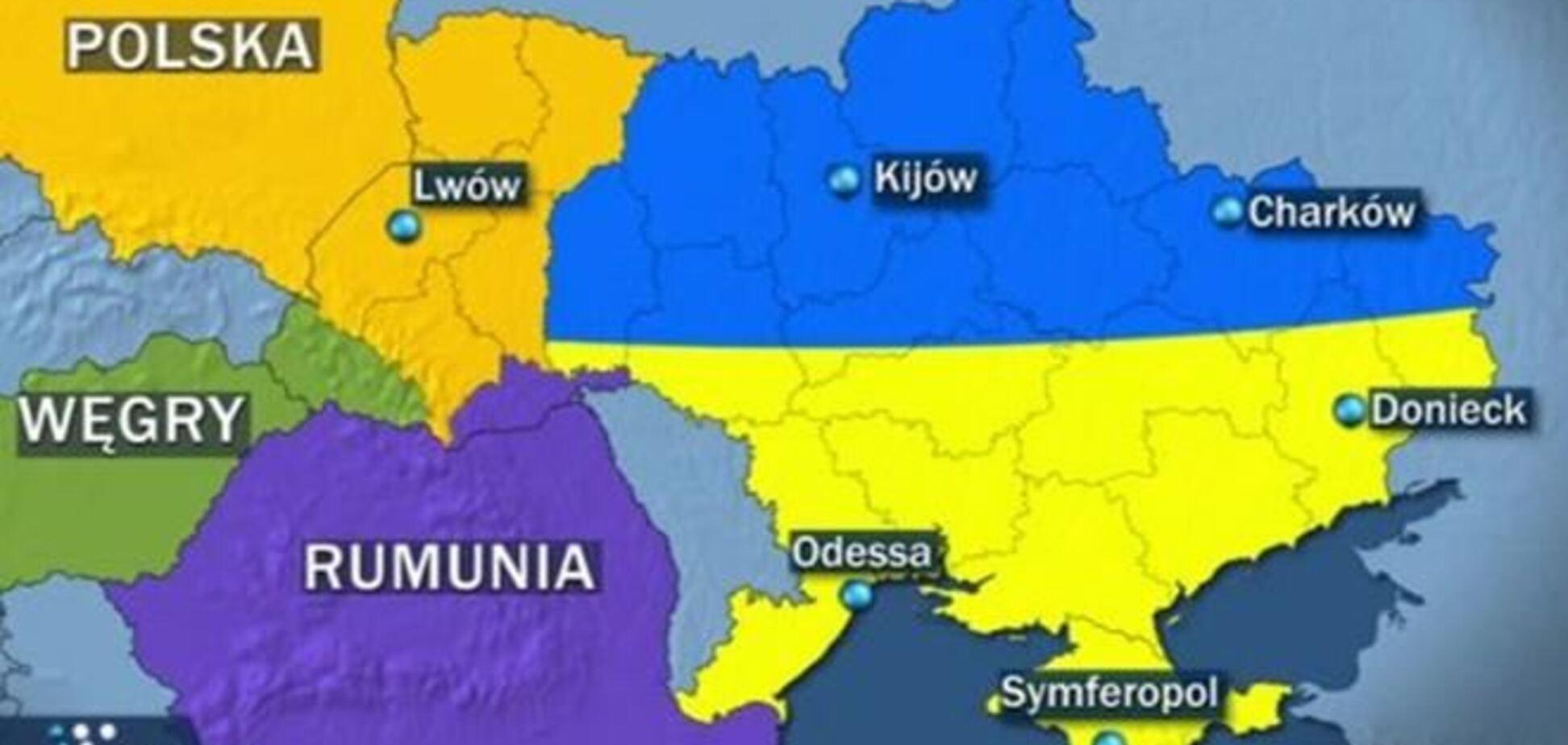 Жириновський запропонував Польщі, Угорщини та Румунії розділити Україну