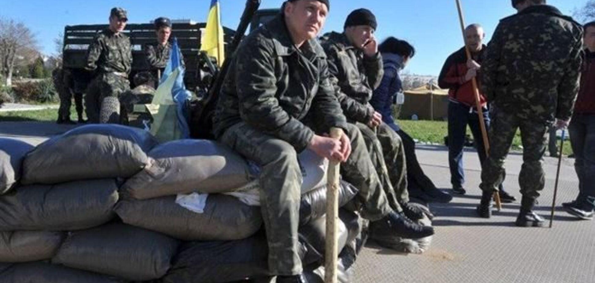 Украина в Крыму: эвакуация, передислокация… Или капитуляция?