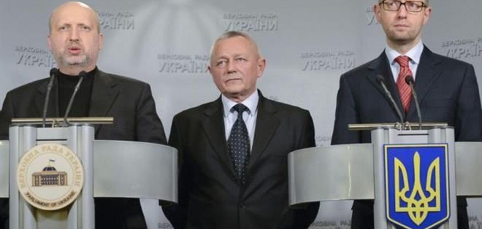 Турчинов созвал срочное совещание с Яценюком и Тенюхом