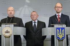 Турчинов скликав термінову нараду з Яценюком і Тенюхом