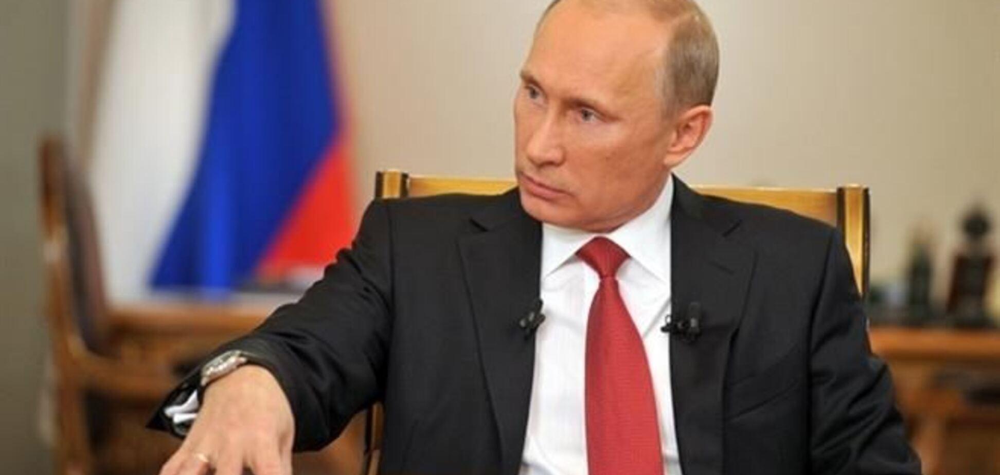 В СМИ попал план Путина по 'захвату Украины'