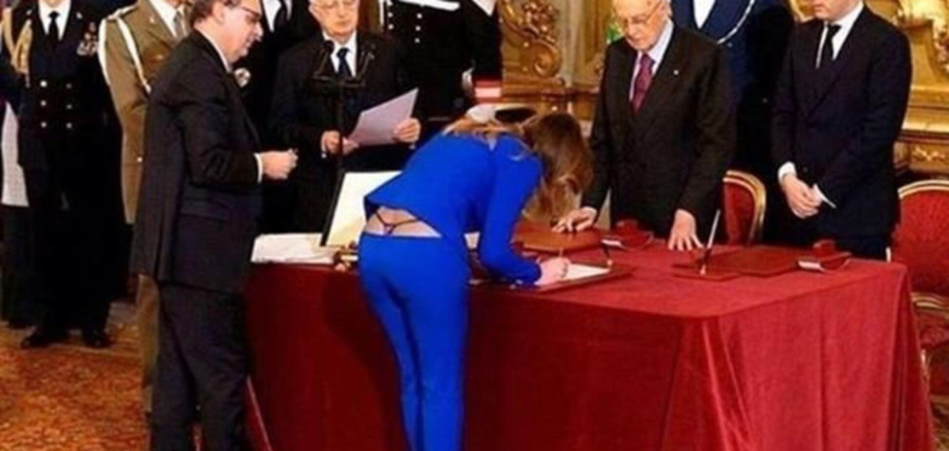 Фото трусів міністра Італії підірвало Інтернет