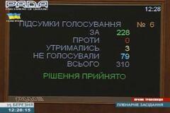 Рада проголосувала за відставку Тенюха і призначила нового в.о. міністра оборони