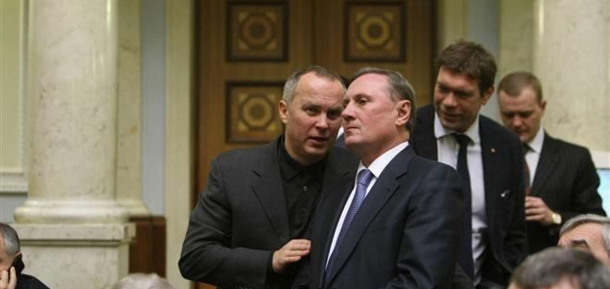 Регионалы не будут голосовать за 'антикризисные меры' Яценюка