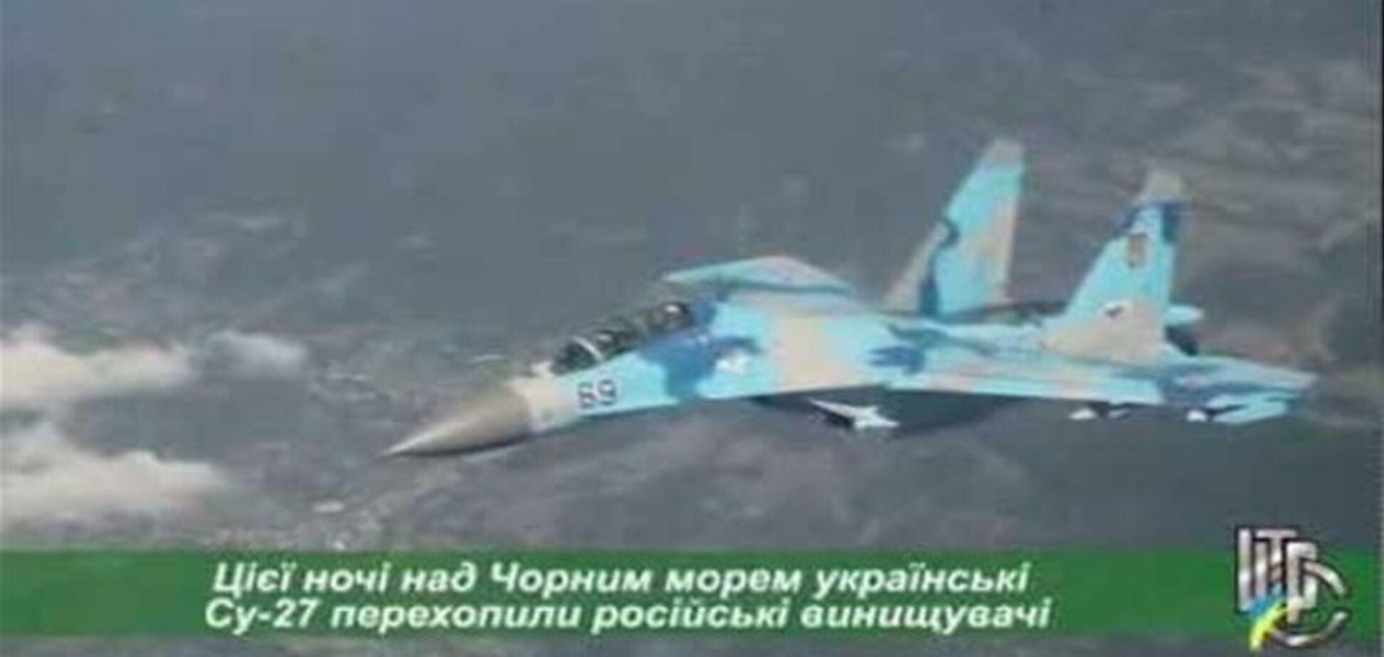 Российские истребители нарушили воздушную границу Украины