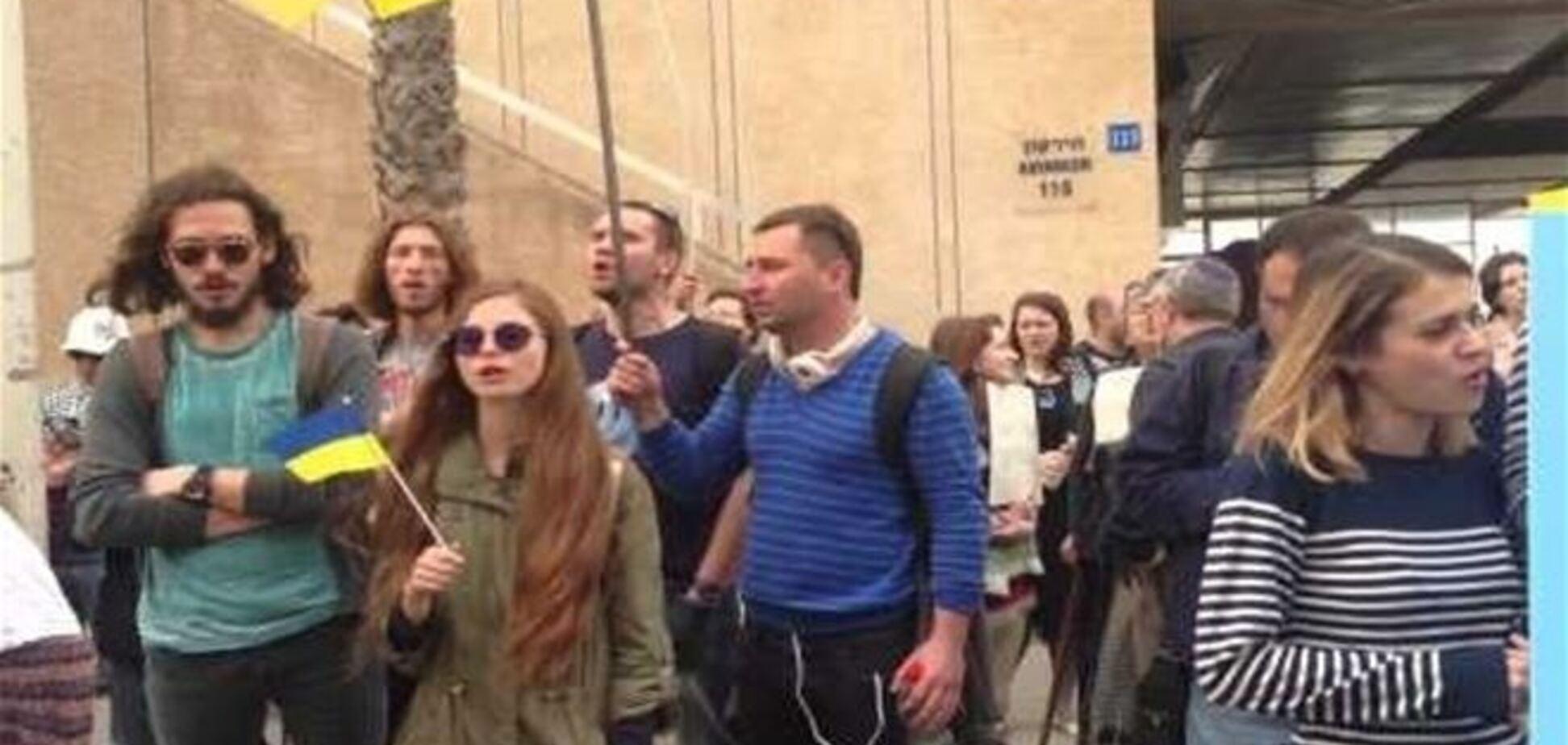 В Израиле прошла акция против оккупации Крыма