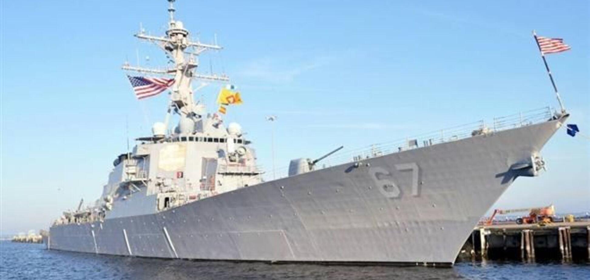 Эсминец ВМС США войдет в Черное море