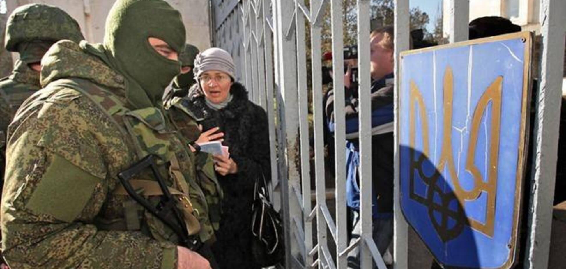 Неизвестные пытались захватить здание пенитенциарной службы Крыма
