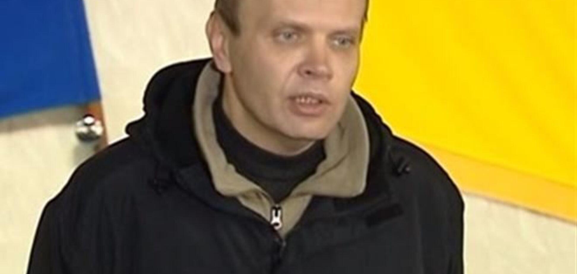 Біля готелю 'Дніпро' впізнали скандального полковника Асавелюк