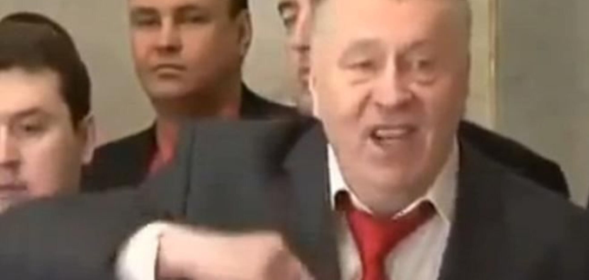 Жириновский опустил Путина ниже плинтуса