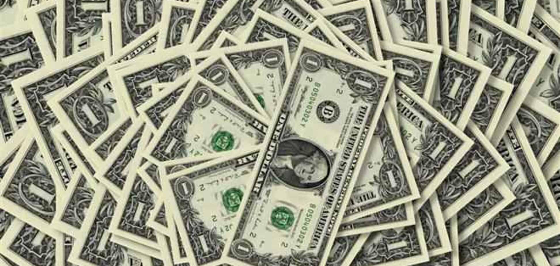 Доллар на межбанке резко упал до 9,58 грн