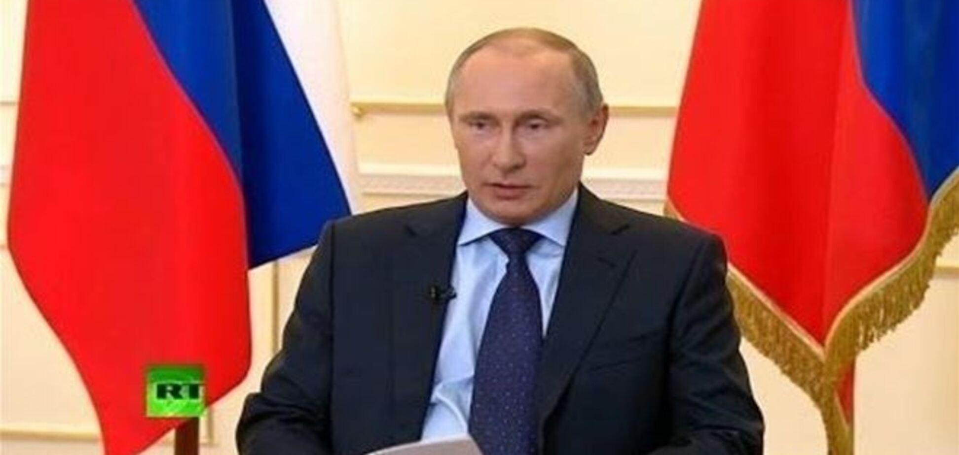 Встреча Путина с прессой по Украине