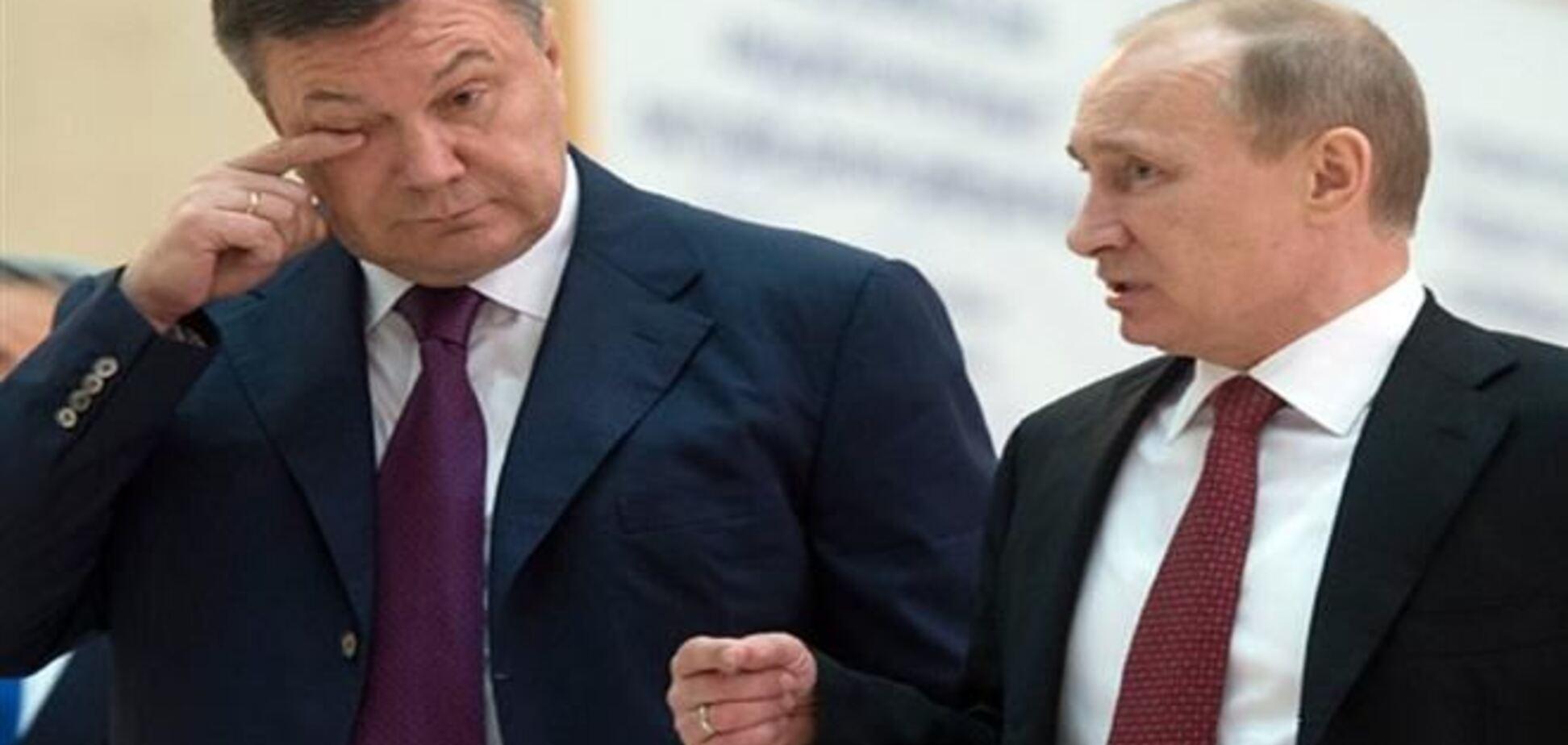 Путин: мы Януковича приютили, иначе его бы просто убили