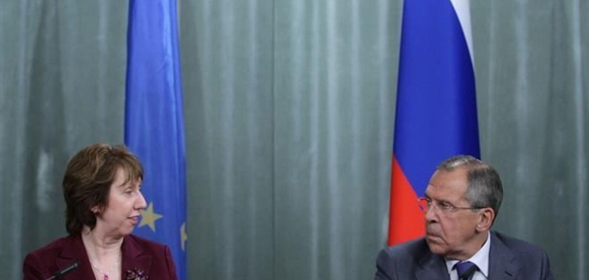 Ештон провела переговори по Україні з главою МЗС РФ