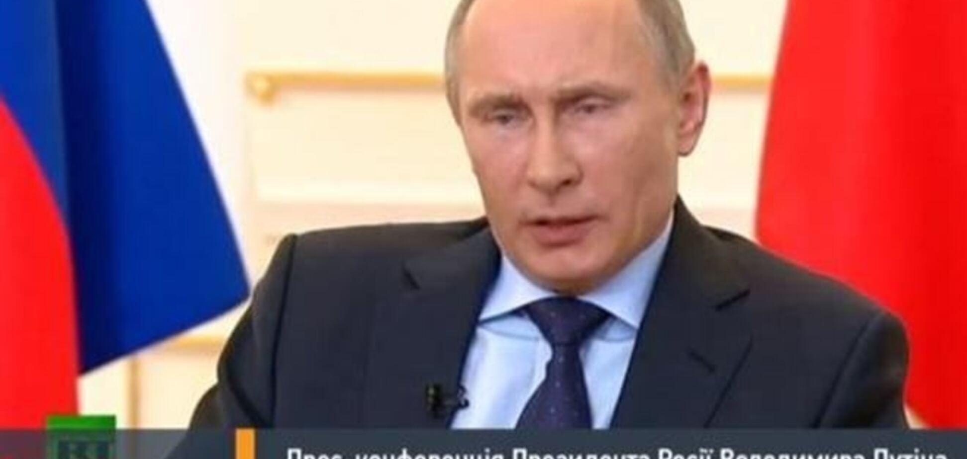 Путин: падение экономики не связано с событиями в Украине