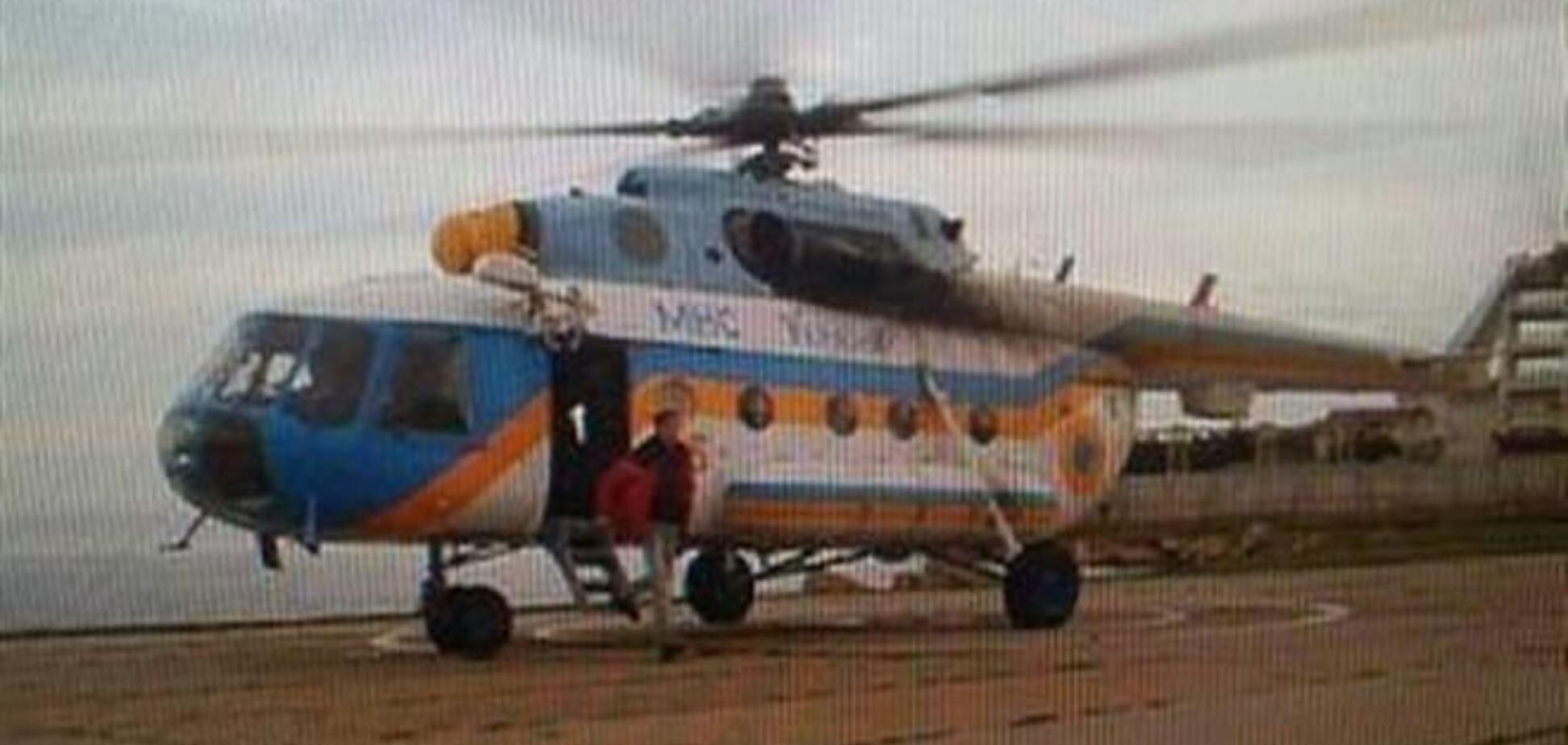 У Криму захопили вертоліт, на якому прилетіли журналісти з Києва