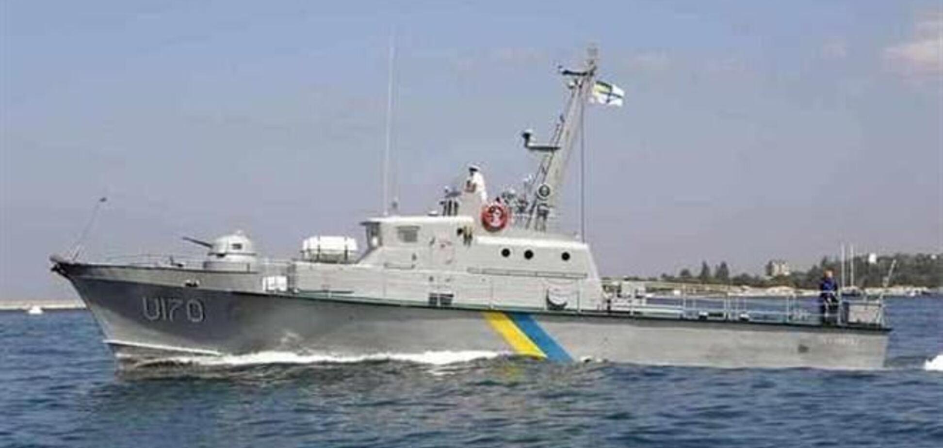 Госпогранслужба вывела все свои корабли за пределы Крымской акватории