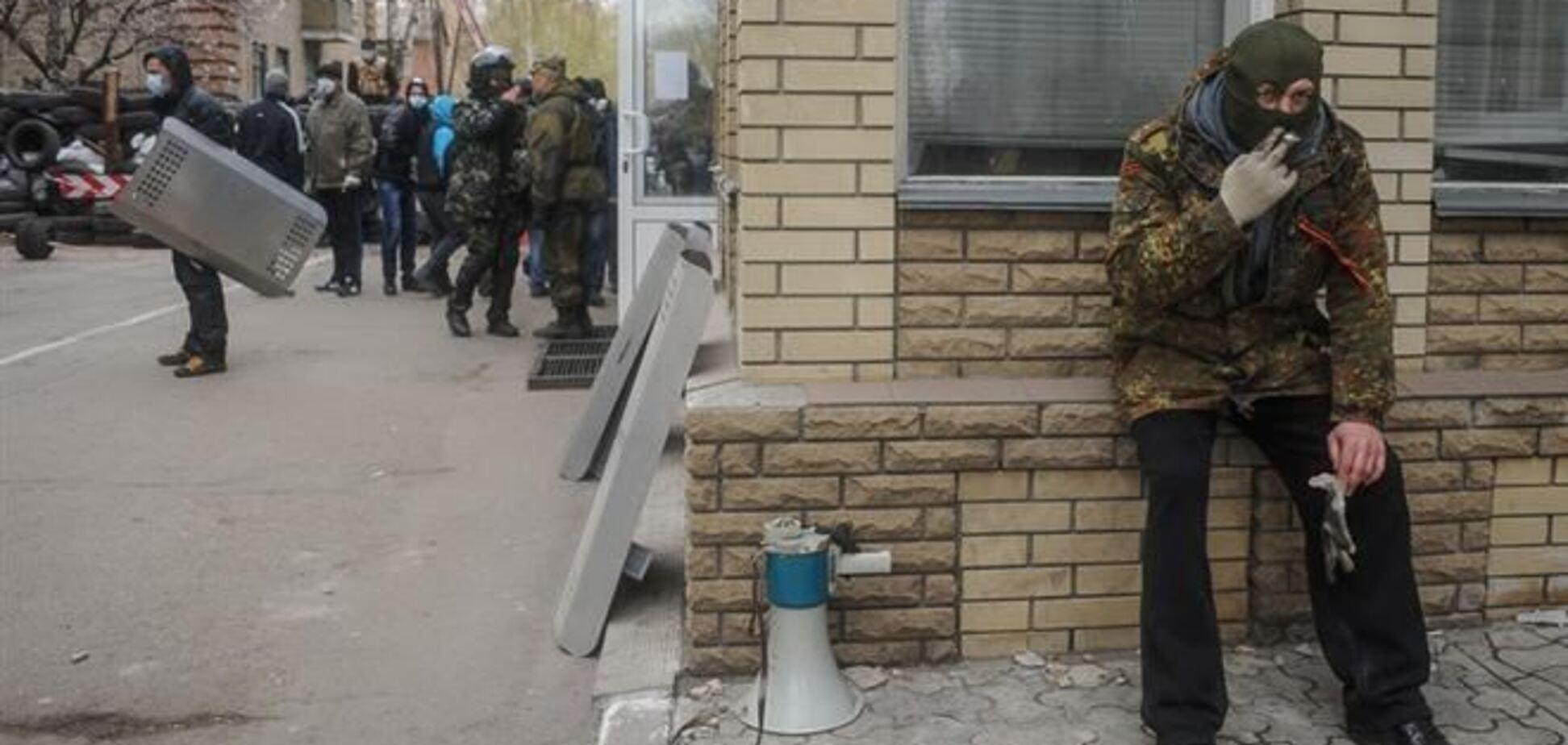 Милиционеры Горловки отстояли свой горотдел