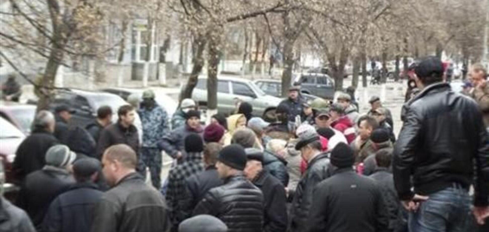 Захватчики горотдела милиции в Славянске условий не выдвигали - МВД