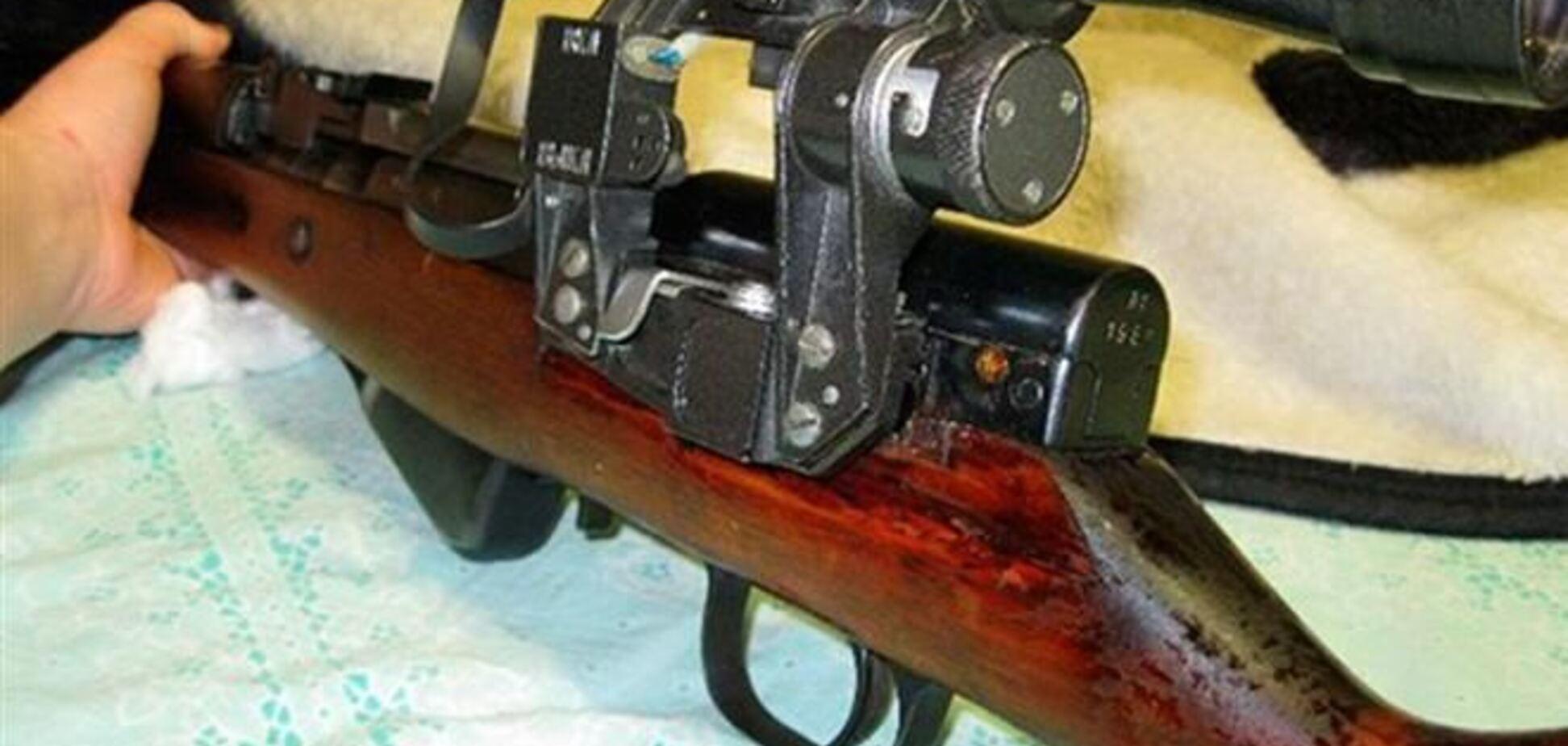 На Луганщине милиция задержала автомобиль с огнестрельным оружием