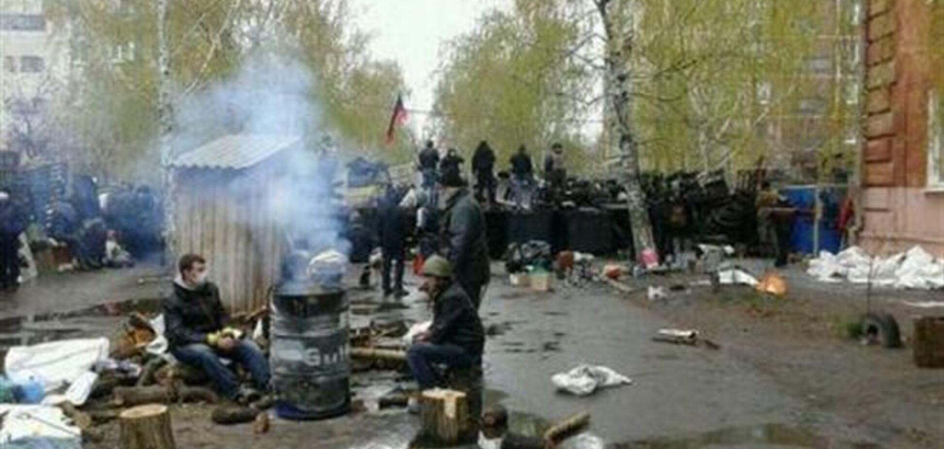 В ходе АТО в Славянске 9 человек ранены, 1 погиб - ДонОГА