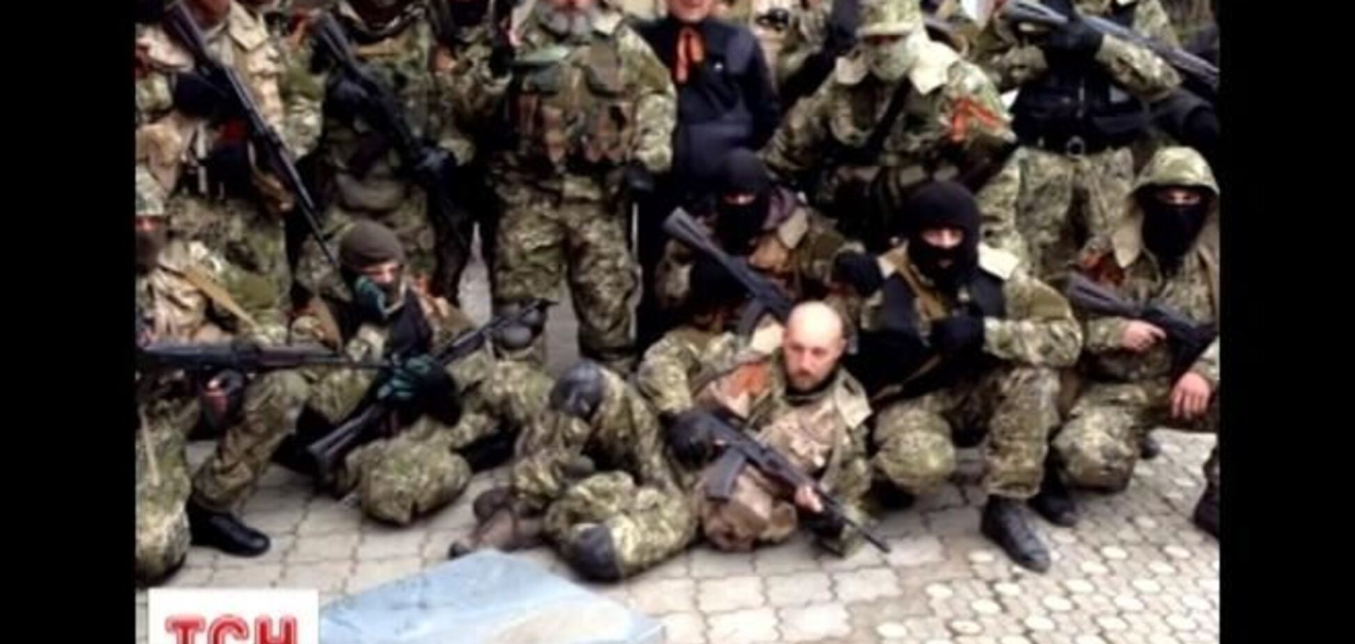 Российский боевик говорит, что приехал в Донецк 'помогать братскому народу'