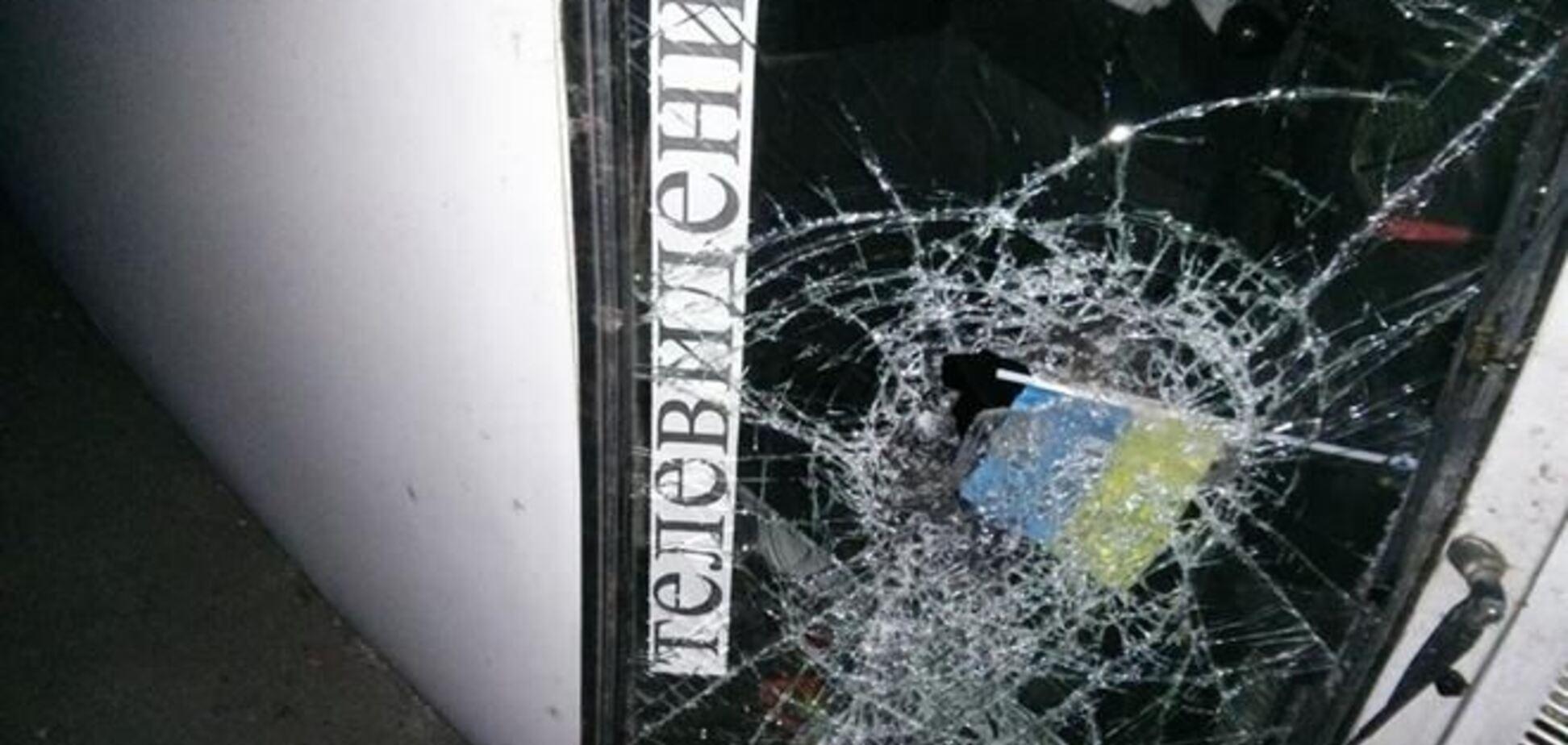 В Одессе в поисках 'бендеровцев' сепаратисты переворачивают авто