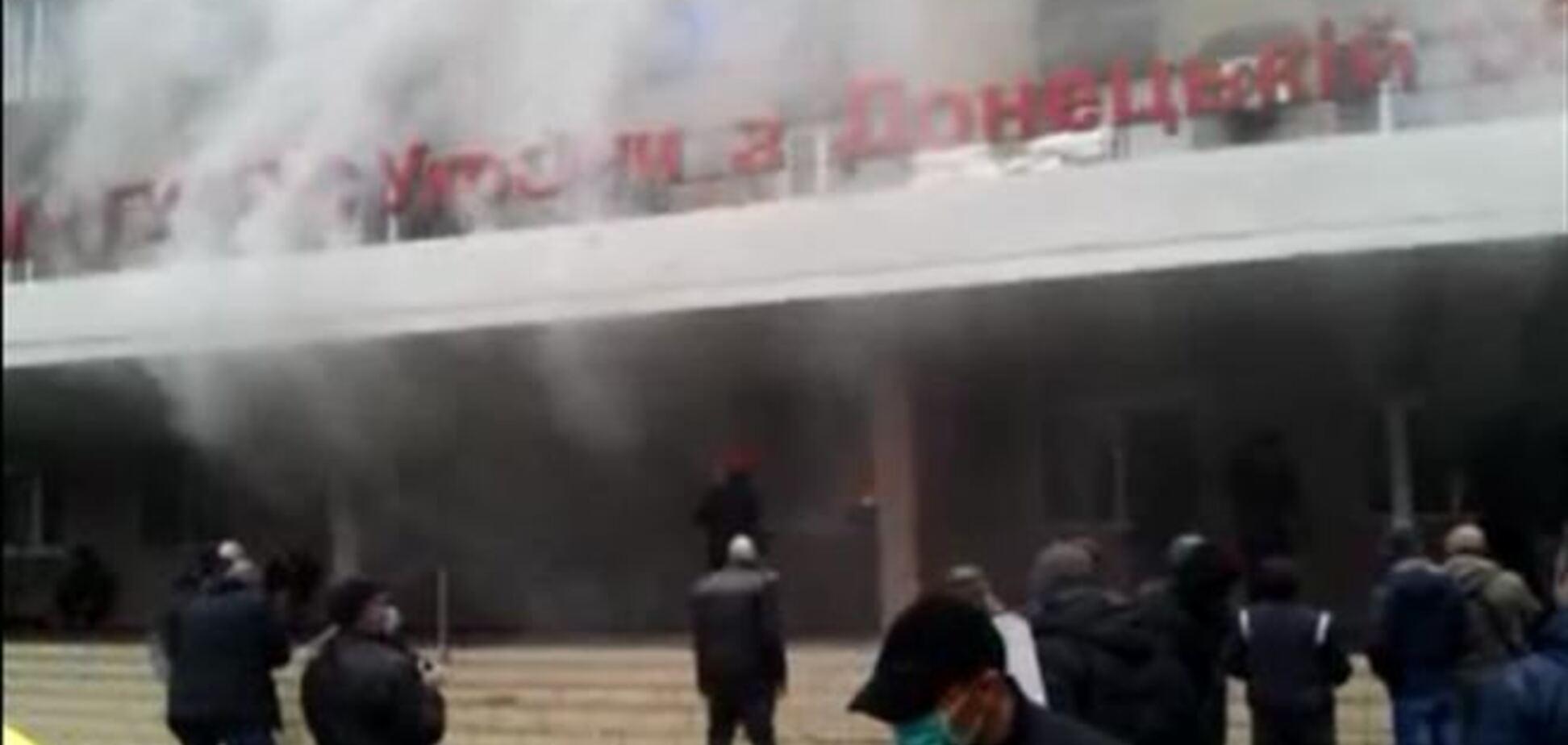 Сепаратисты выкрали мэра Горловки