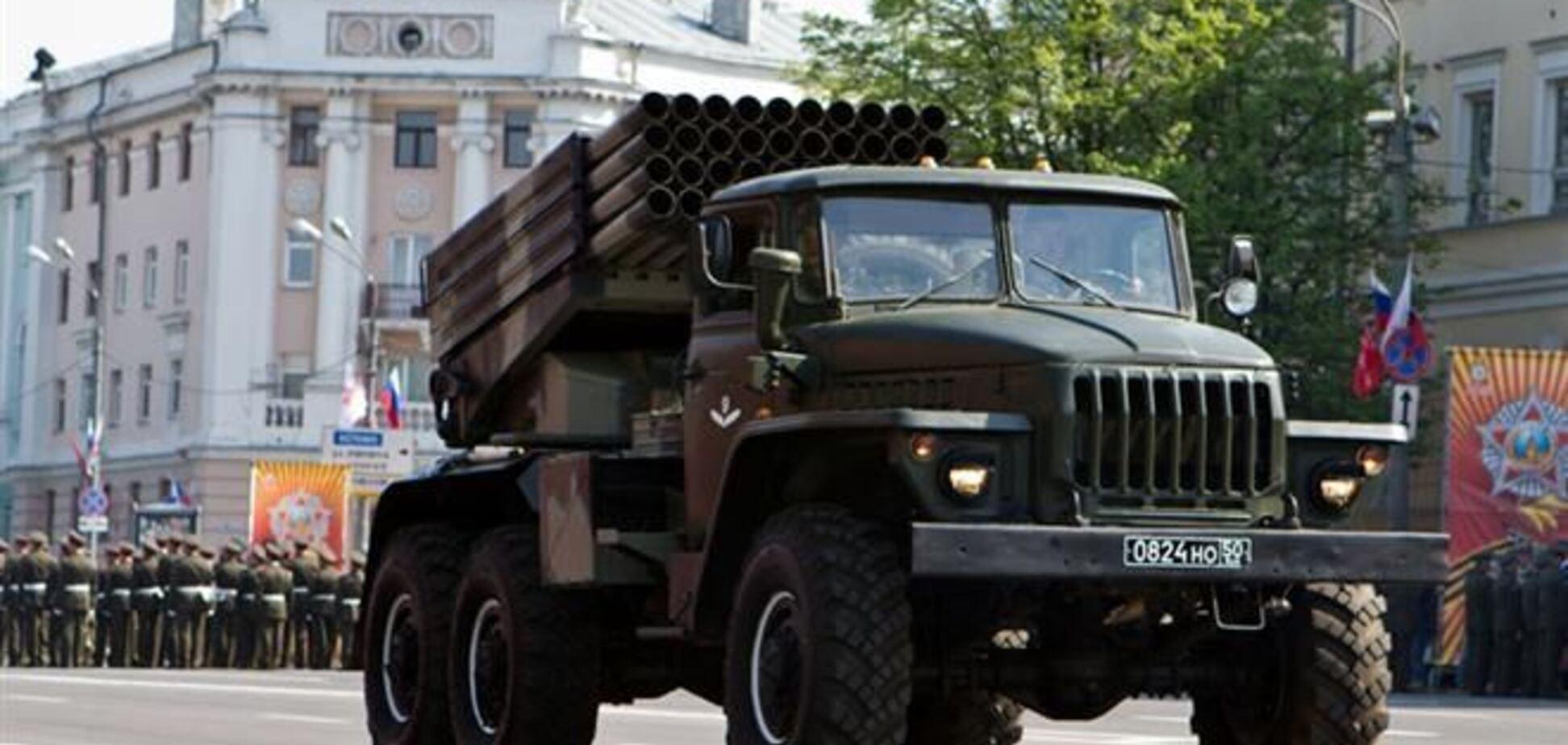 Система залпового огня 'Град' упала с моста в Сумской области, есть погибшие - СМИ
