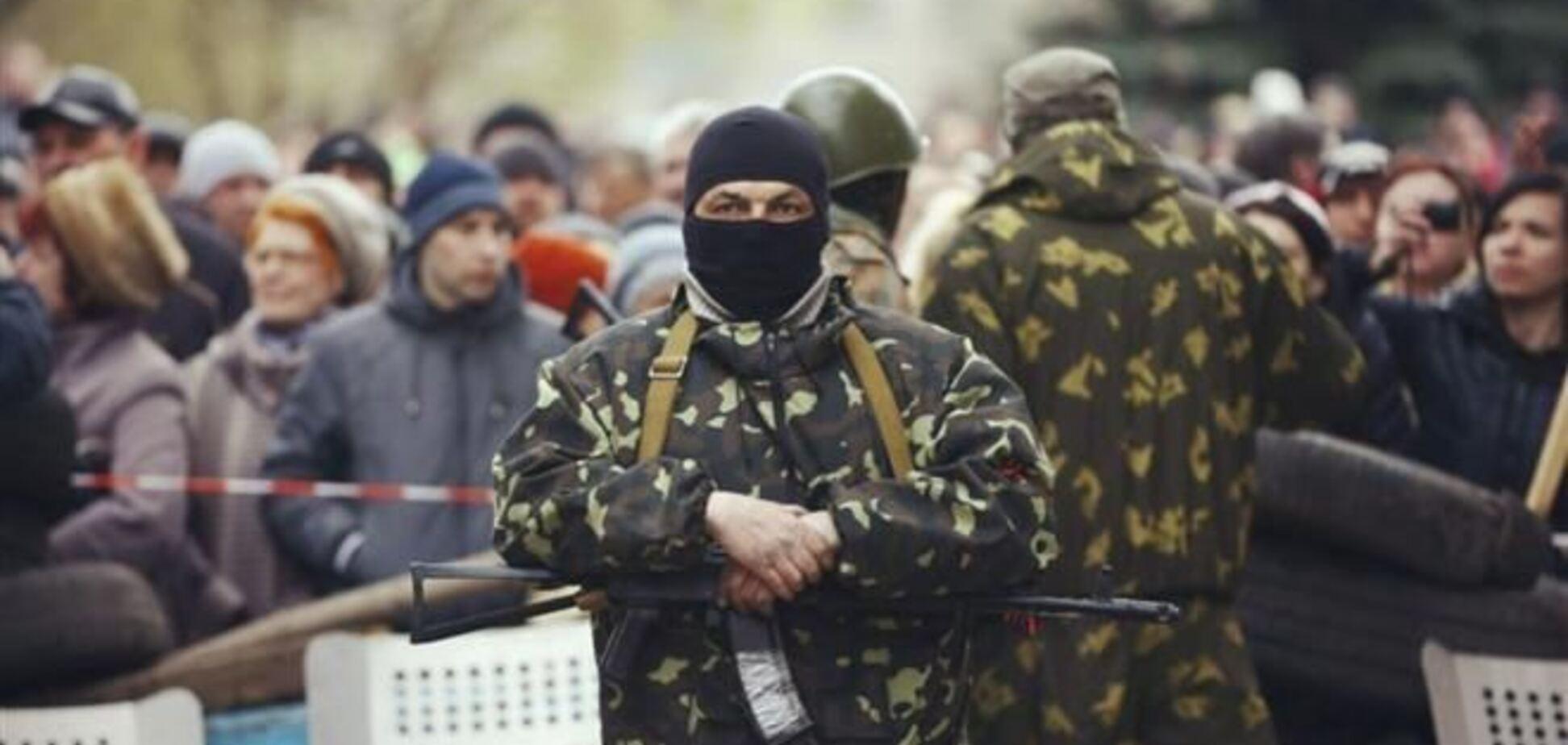 В Донецкой области сепаратисты контролируют пять админзданий