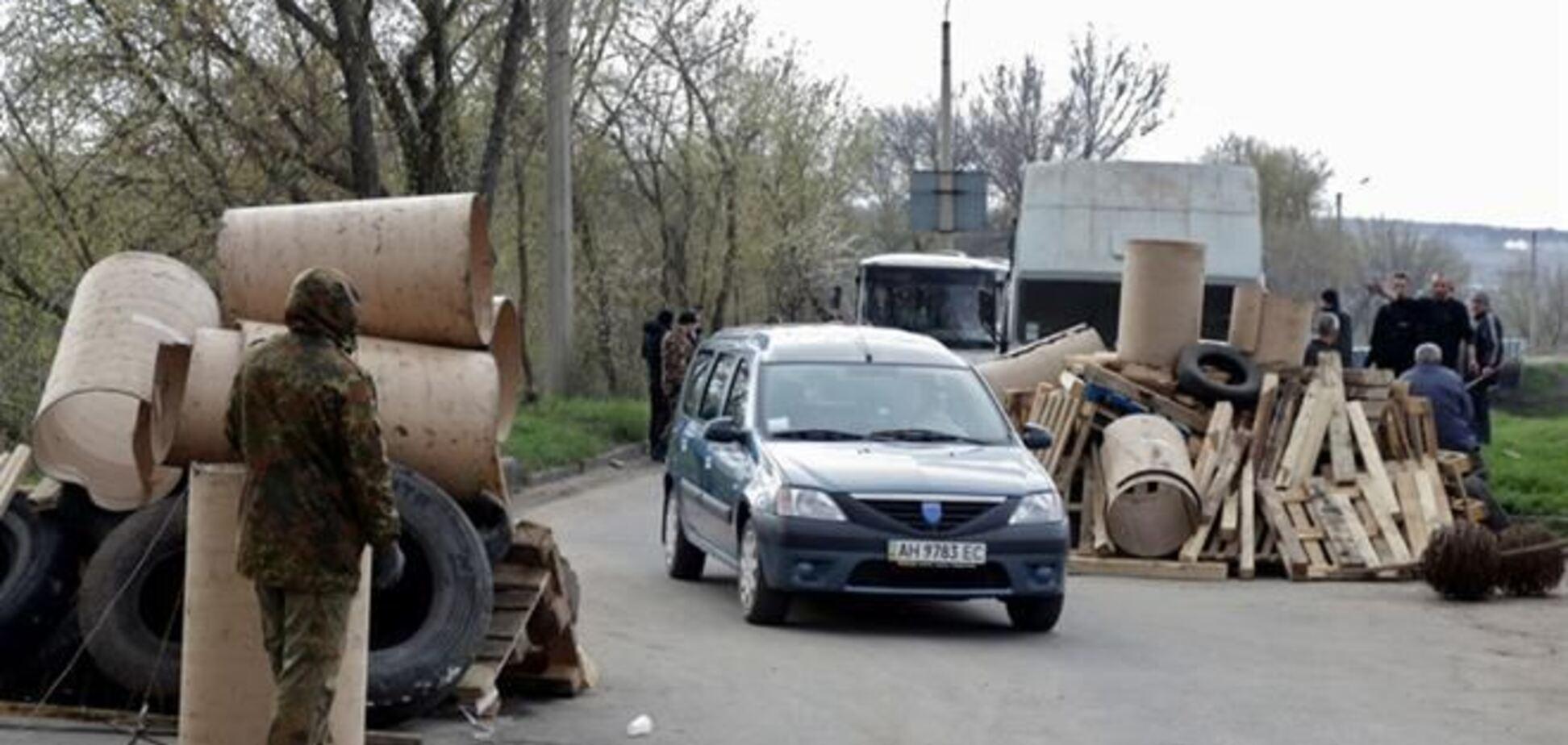 На границе Харьковской и Донецкой областей появились антисепаратистские блокпосты