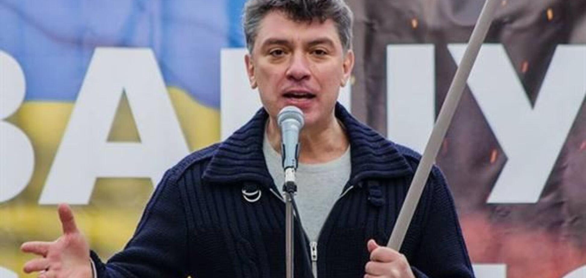 Немцов: Путин не остановится, пока не получит по морде