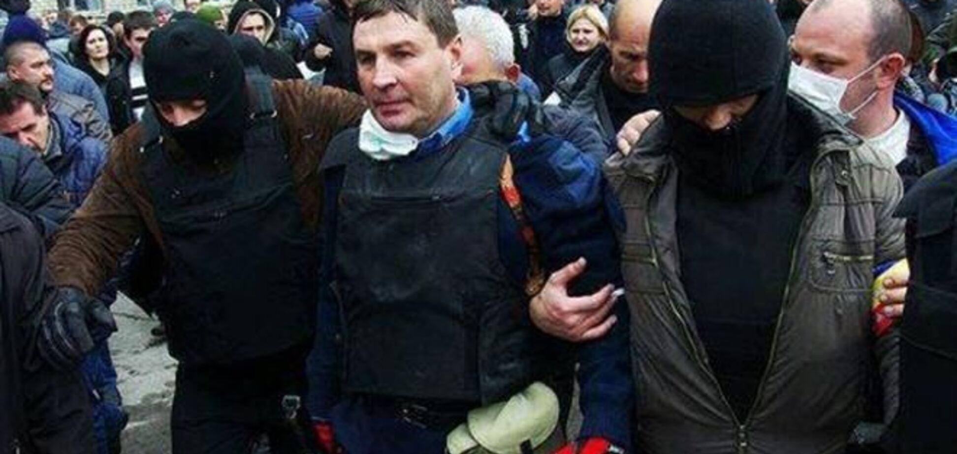 При обороне управления МВД в Горловке было применено оружие
