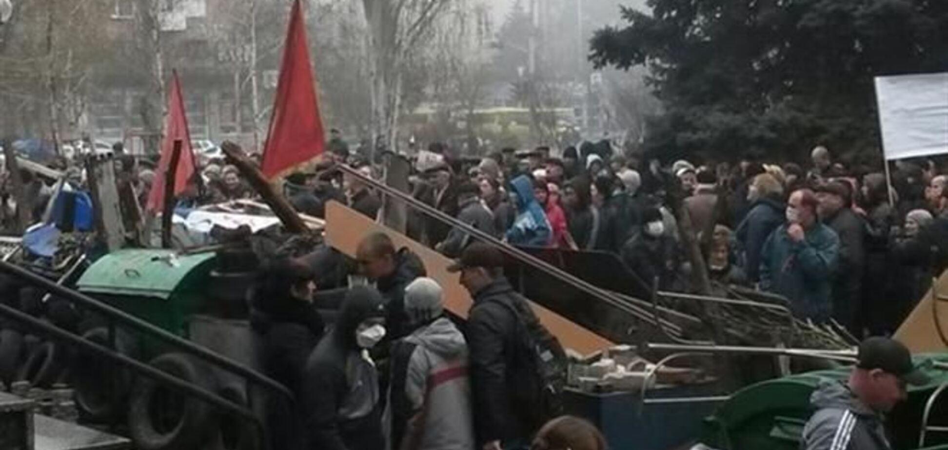 Украинские военные отбили штурм части в Мариуполе