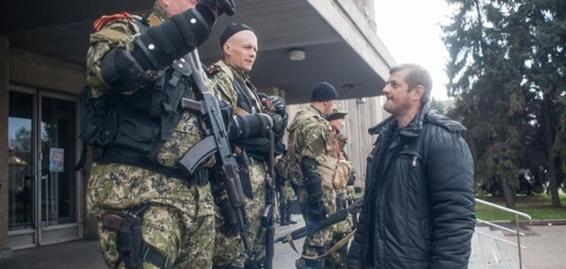 В Горловке боевики напали на управление гражданской защиты населения