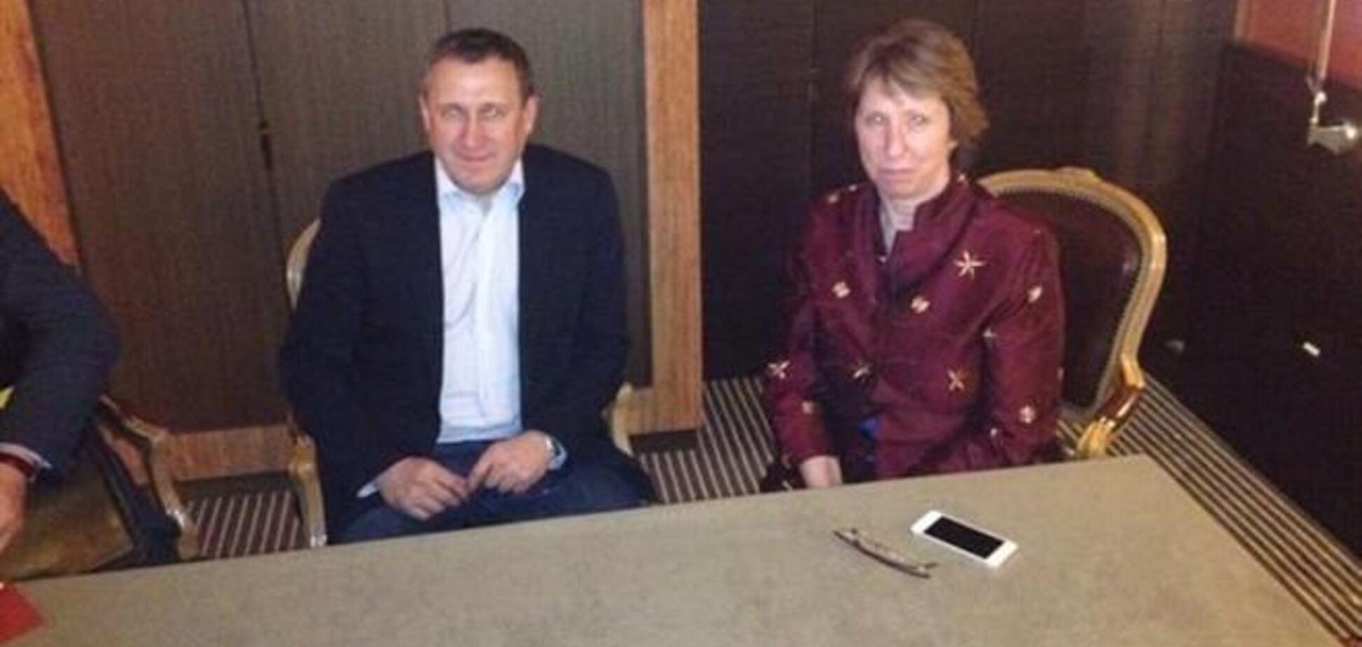 Глава МЗС України зустрівся з Ештон у Женеві