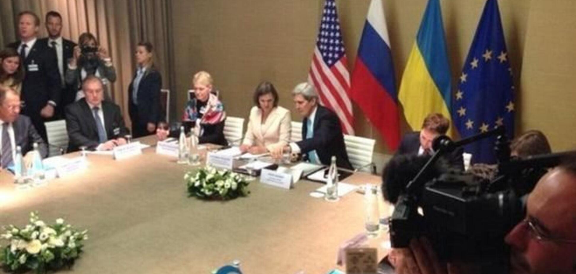 У Женеві проходить зустріч Україна-Росія-США-ЄС