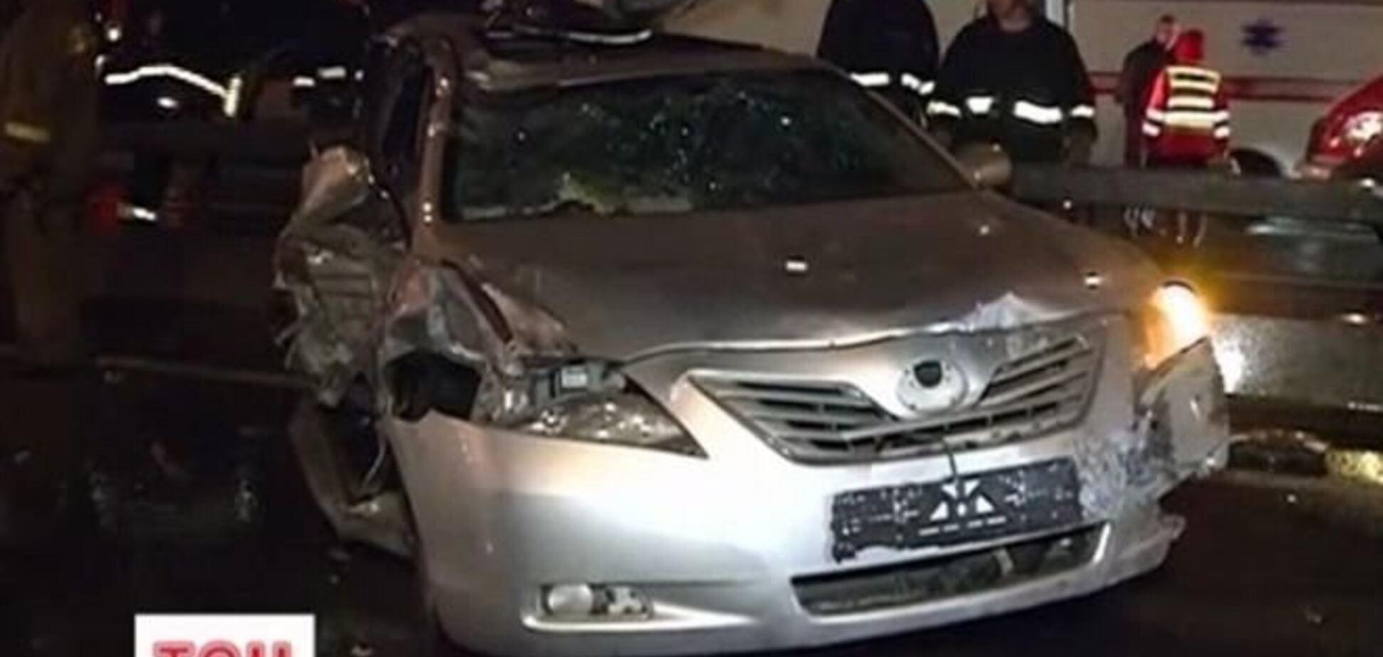 Из-за пьяного водителя в Киеве погибли два человека, травмирован гаишник
