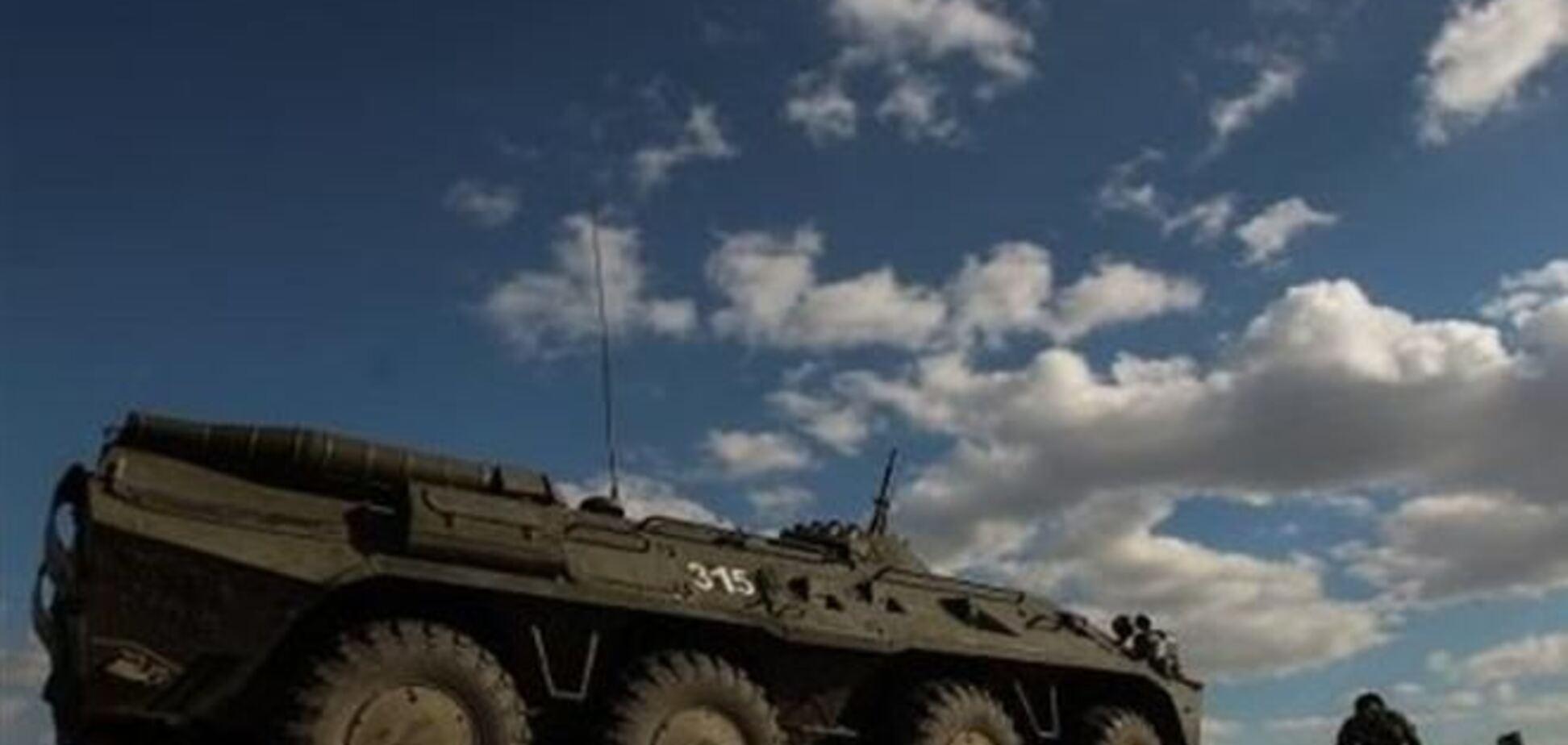 Військові застосували зброю проти загарбників БМД під Краматорському