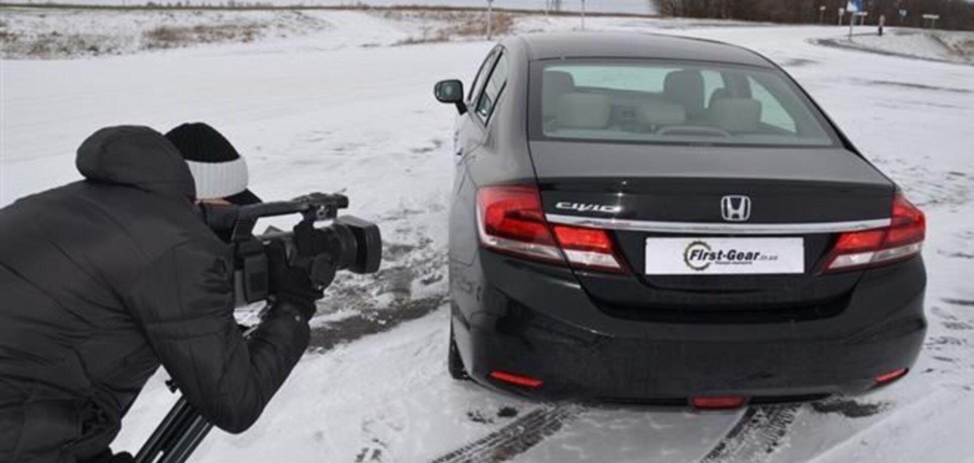 Тест-Драйв Honda Civic 4D: Минус спорт, плюс комфорт