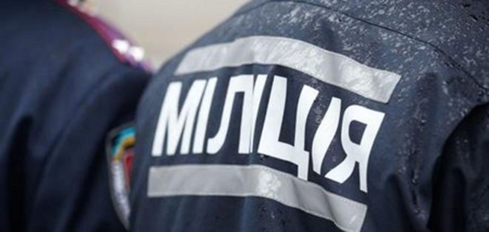 Милиция обезвредила группу лиц с оружием из отдела МВД в Славянске