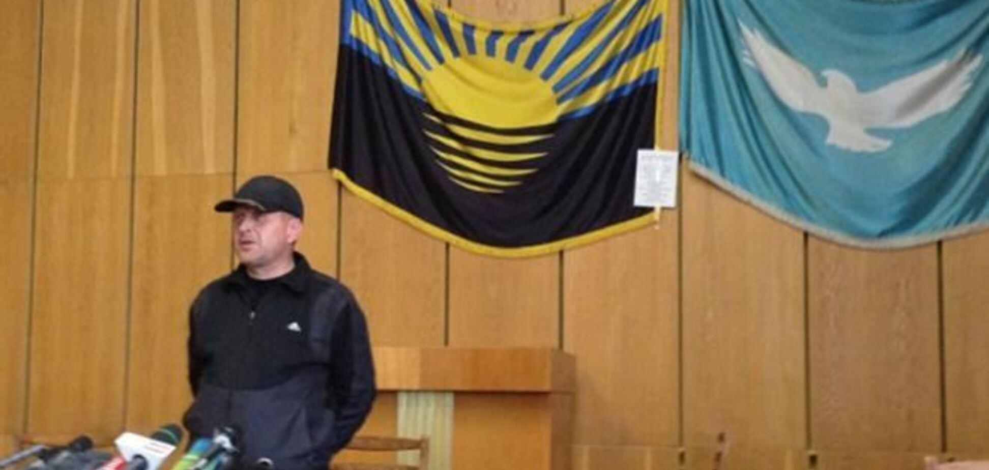 Глава сепаратистов Славянска был доверенным лицом человека из тюрьмы  - СМИ