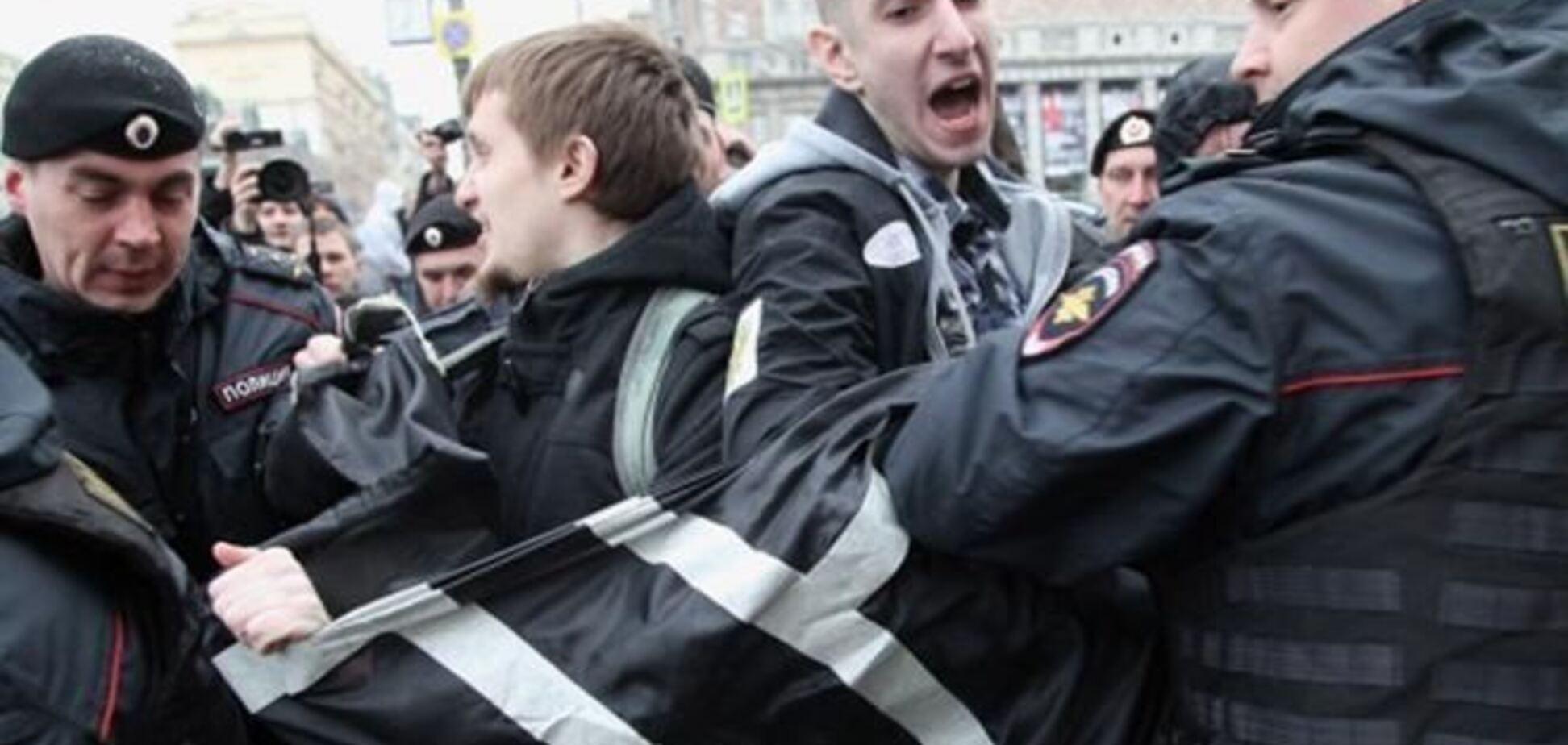 В Москве арестовали сторонников присоединения Харькова и Донецка к России