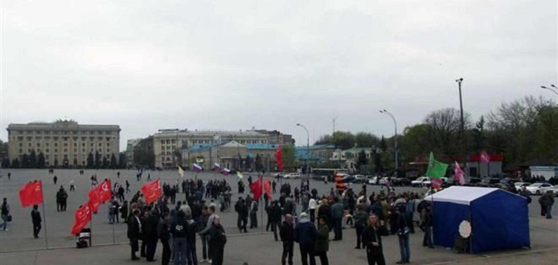 Пророссийский активист: 'народным губернатором Харьковщины' стал человек с улицы