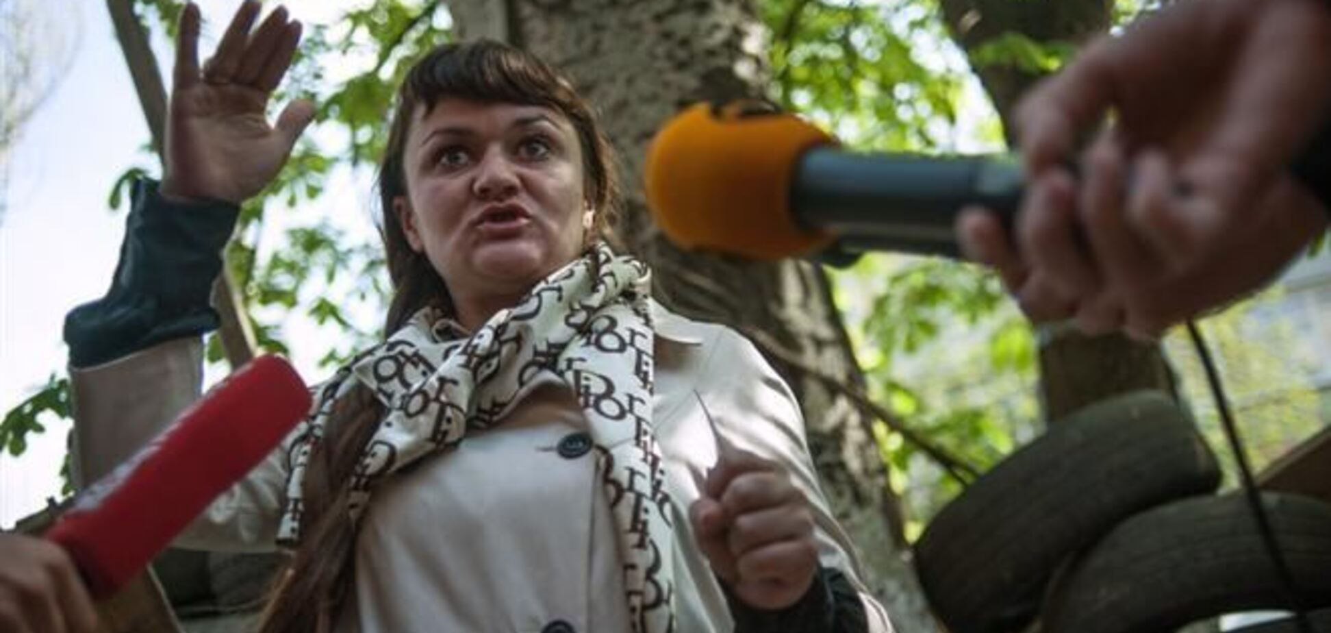 Представники ОБСЄ зустрілися в Слов'янську з захопленої журналісткою