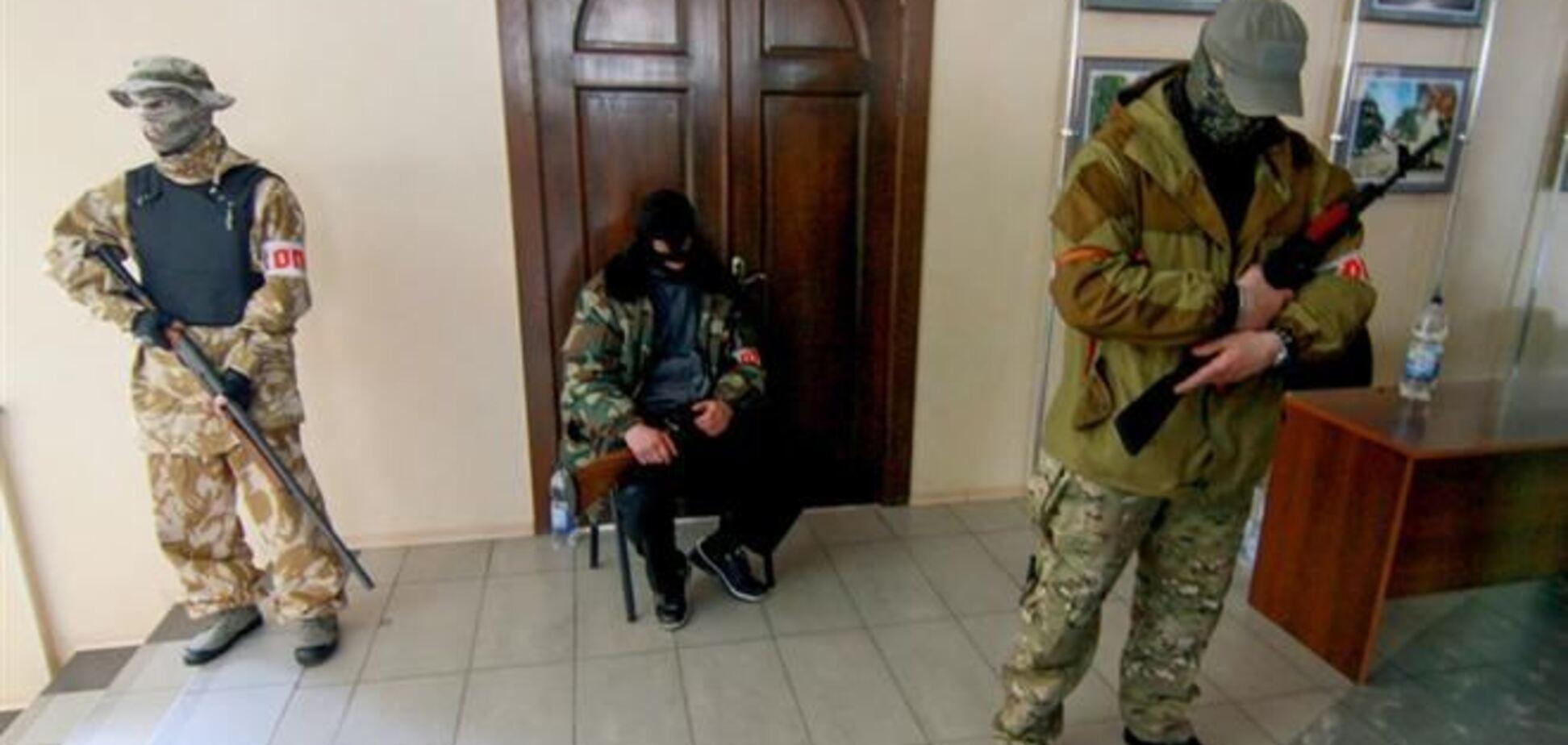 В Славянске сепаратисты отпустили иностранных журналистов