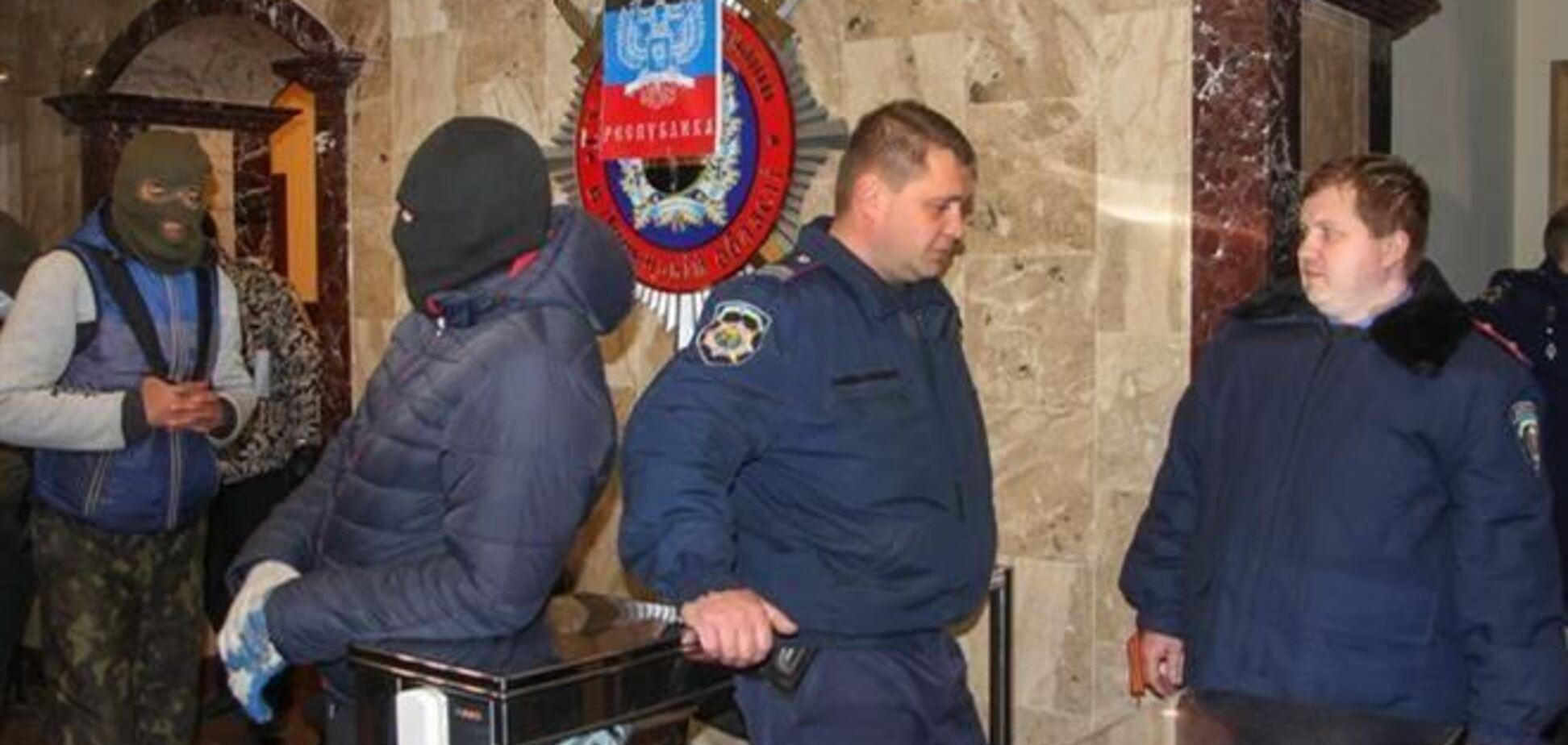 МВД: захватом работников краматорской милиции руководил полковник ГРУ РФ