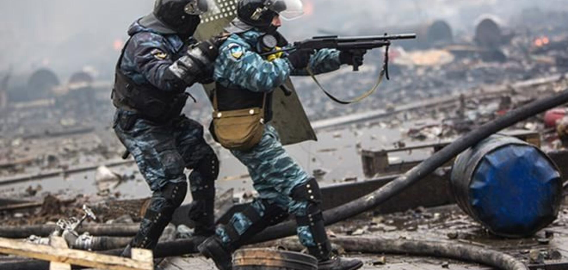 Командира 'Беркута', підозрюваного в розстрілі Майдану, помістили під варту