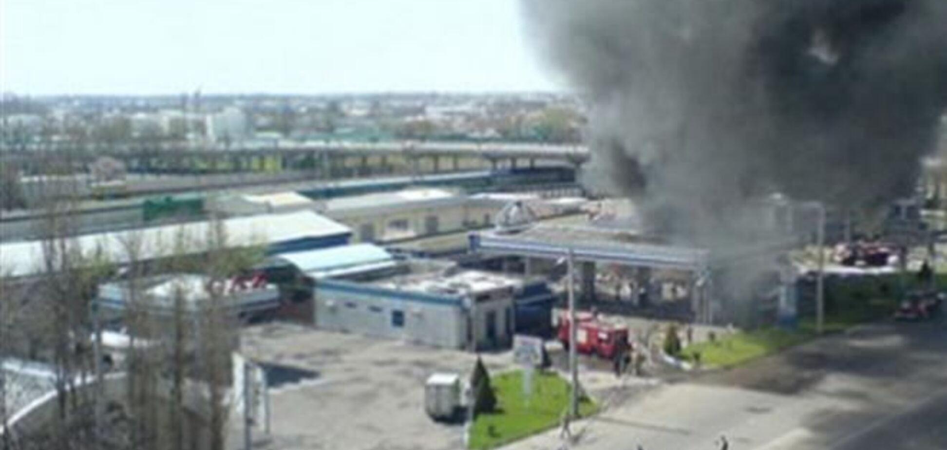 Взрыв на АЗС под Переяслав-Хмельницким: уже три жертвы