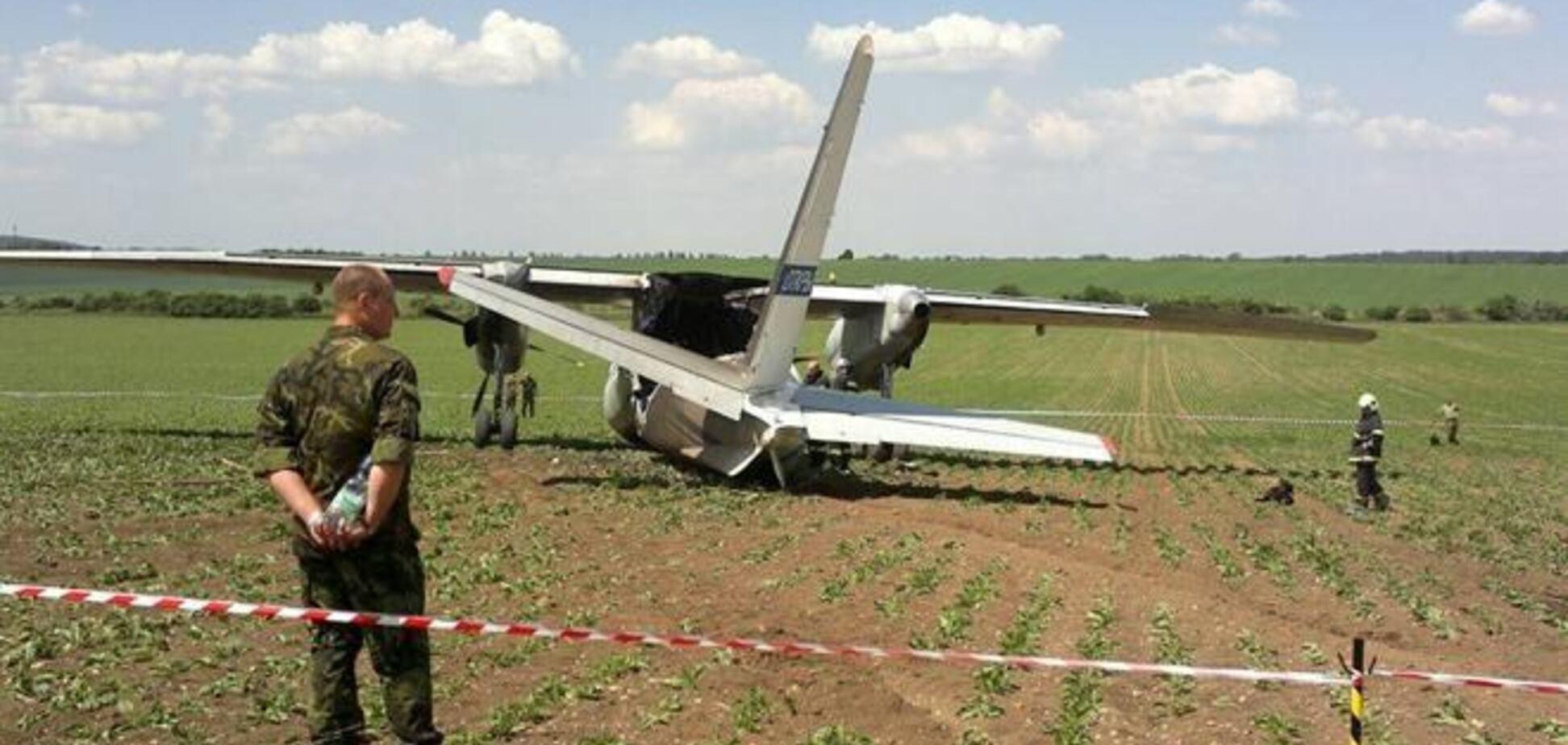 Над Славянском из автоматов обстреляли самолет Минобороны